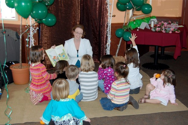 Cabbage Patch party: storytime