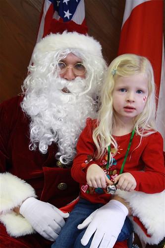 Cate & Santa 2009