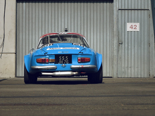 Alpine A110 - Le Mans Story 2009 by roo8_2.