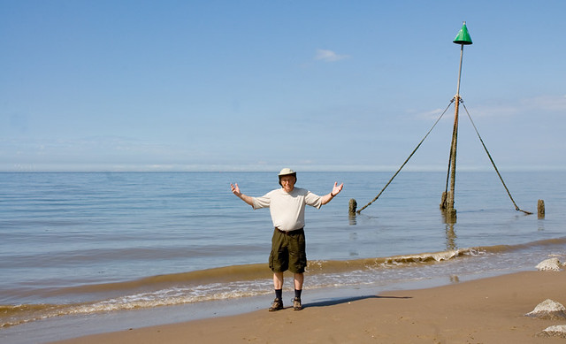 See the sea, feel the sea - Made it!