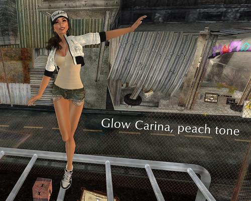 LAQ Glow Carina peach