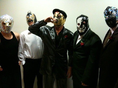 Faith No More lucha libre in Mexico