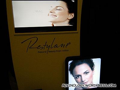 Restylane - a non-invasive filler