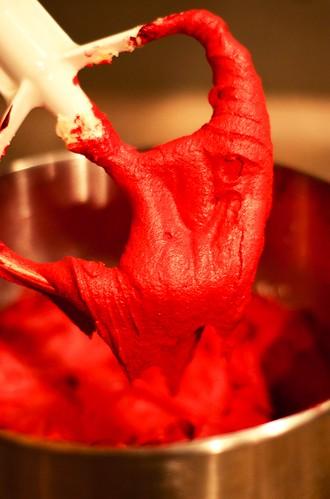 red velvet batter