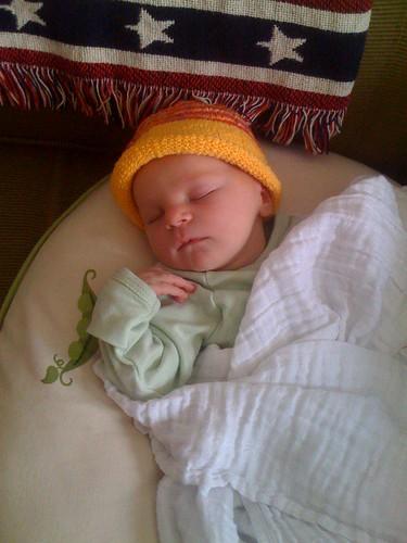 Moxie Ann, born 7/24/09 7lbs 12oz