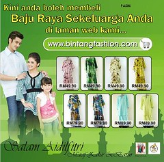 Bintang Fashion Opening & Raya Promotions