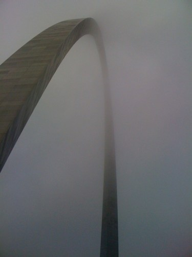 fog and arch