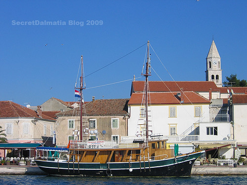 In Biograd...end of Summer on the beatten hull