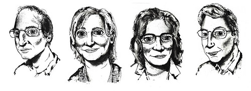 Discover Magazine Portraits