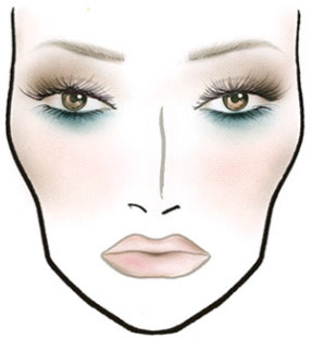 MAC Love Lace Face Chart