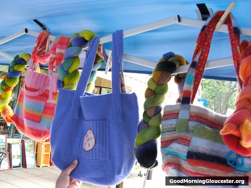 Felted Sweater Handbags From LizzyKnits