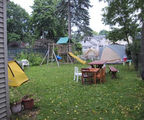 camped