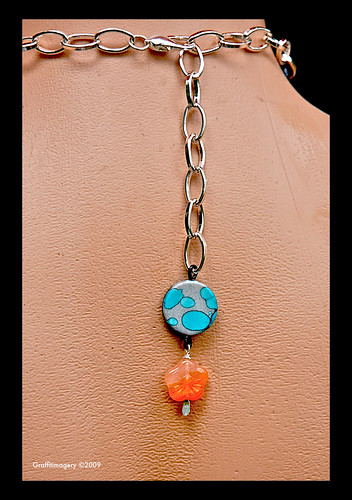DOG DAYS OF SUMMER ltd edition  Chow pendant/necklace by Sandra Miller by you.