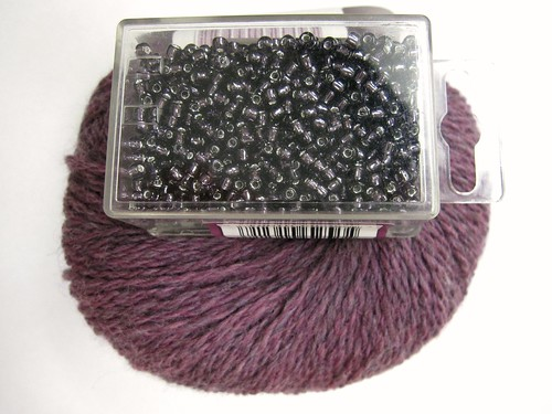 Huckleberry Heather & Purple Beads