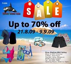 Dive Station sale