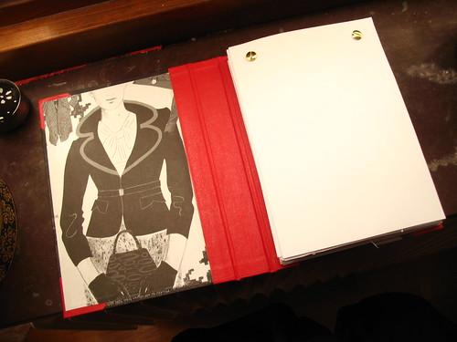book binding - inside