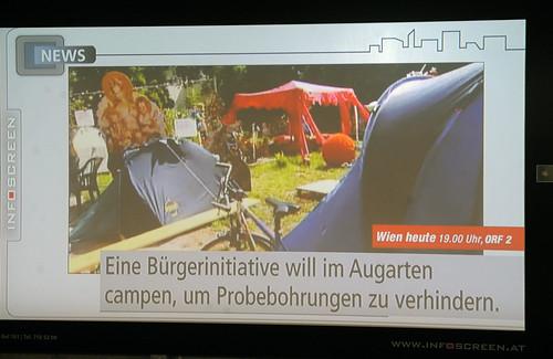 Wien Heute: Berichterstattung von der Besetzung in den U-Bahnstationen