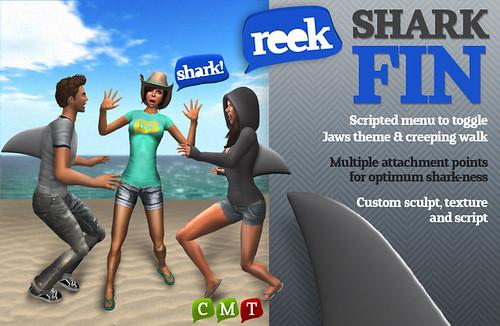 Reek - Shark Fin (Group Gift!)