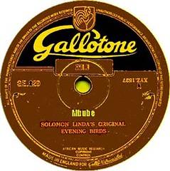 Mbube1938 label