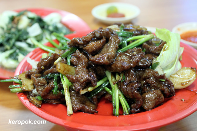 Stir Fried Venison