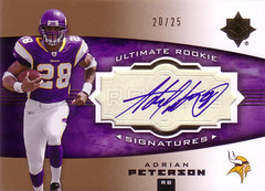 Adrian Peterson Autograph RC Gold