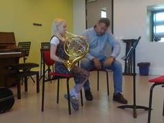Music lesson in Enschede (Muziekschool)