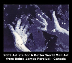 Debra James Percival Mail Art - Canada