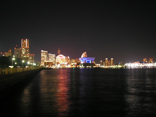 Yokohama at night