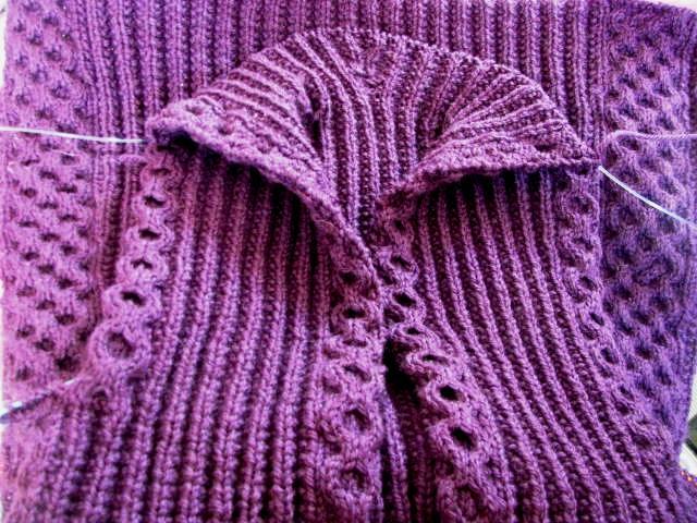 Hooded Vest Coat VK2009 Fall Hood Collar