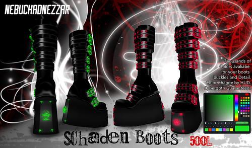 NDN Schaden Boots
