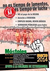 """Programación en Móstoles el 18M. Con la solidaridad de los pueblos rumbo a las Marchas de la Dignidad el 22M • <a style=""""font-size:0.8em;"""" href=""""http://www.flickr.com/photos/118665019@N03/13099791235/"""" target=""""_blank"""">View on Flickr</a>"""