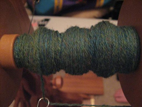 A piddly portion of plied polwarth