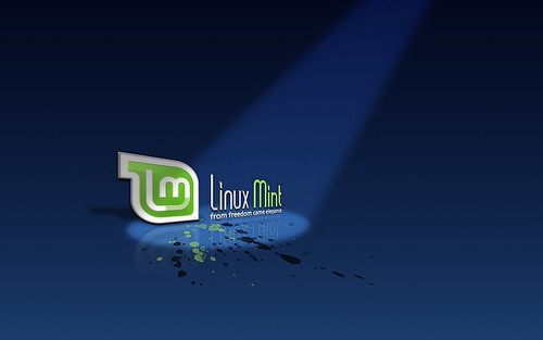 Linux Mint - Dark Blue