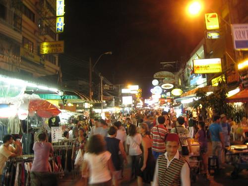 Infamous Khao San Road (Bangkok, Thailand)