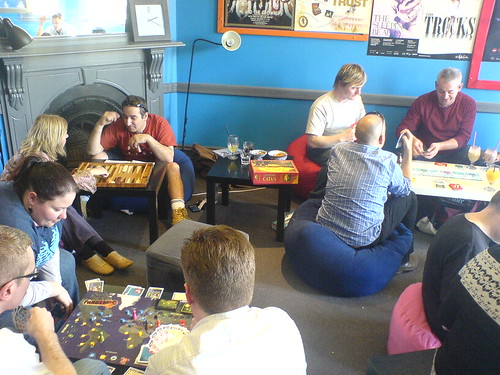 Playing boardgames at MyCube