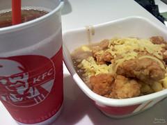 KFC Dinner With Jan [2009-1119]