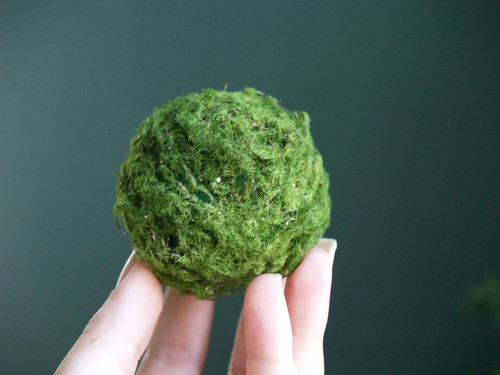 Moss Pinned to ball