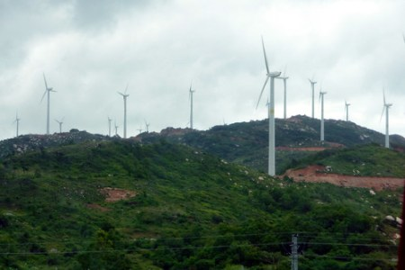 Wind Farm Shantou China - Photo : dcmaster