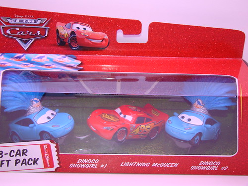 Disney CARS Dinoco ShowGirls 3 Pack