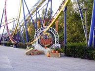 Cedar Point - Mantis Sign with Decorations