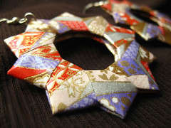 Origami Earrings - Decadence