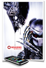 Rogers Wireless Alien vs. Predator