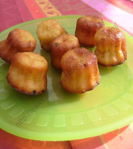 Mini-canelés Bordelais / Mini-ribbed delight