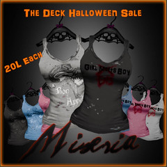 [Miseria] Zombie Tanks - The Deck Halloween Sale