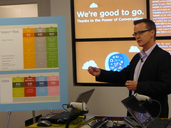 WIND Mobile CCO Chris Robbins at Calgary Launch