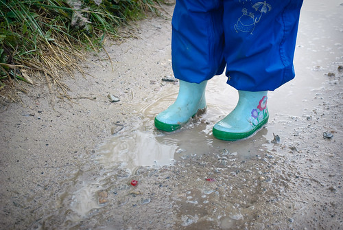 19/365 Puddle Jumping by nualacharlie