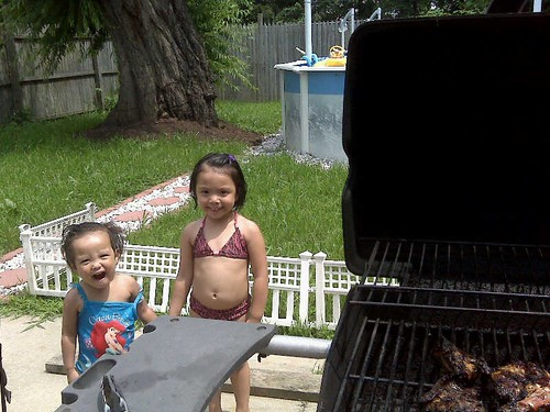 Swimmin' and Grillin' - Tuesday Lunch Edition