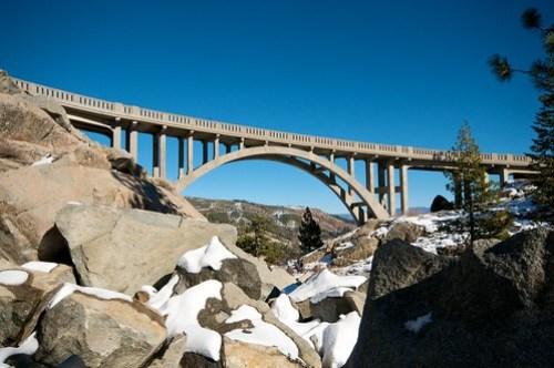 The Donner Pass Bridge
