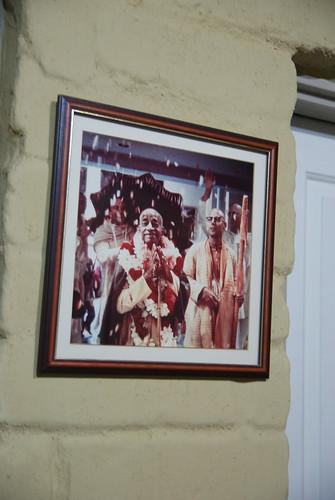 Srila Prabhupad with devotees