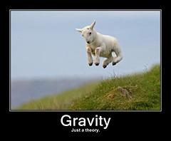 Atheism-gravity